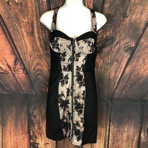 TopShop Pinup Corset Style Dress Size 6